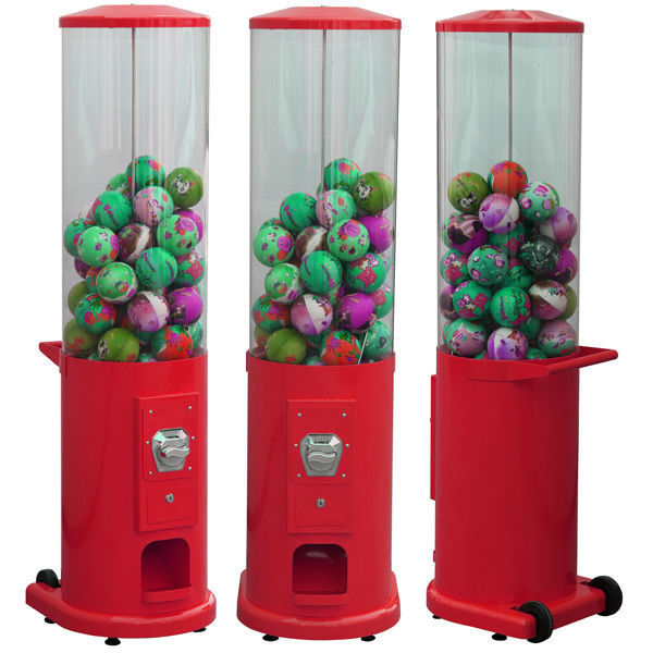80-120 mm Kids Toy Vending Machine 40*40*116CM With CE Certification